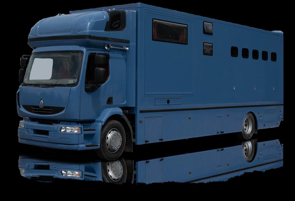 Koniowóz niebieski